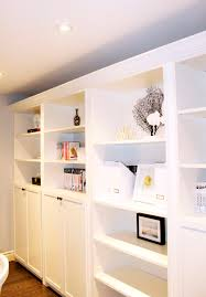 am dolce vita accessorizing built in shelves and bookcases