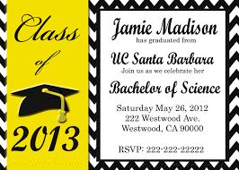 fabulous graduation party template invitation card with graduation