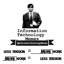 Information Technology Memes - information technology memes added a new information