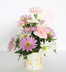 flowers arrangement it s a girl flower arrangement