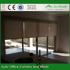 Office Curtain Custom Made Auto Office Curtains And Blinds For Window Sunshade