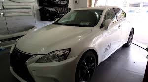 lexus is 250 custom lexus is250 2006 change new face with auto folding youtube