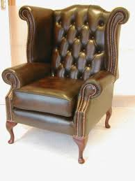 Leather Chesterfield Style Sofa Leather Chesterfield Chair Ebay