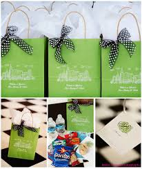 wedding guest gift bags wedding gift bag ideas
