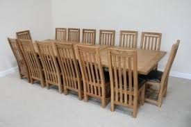 Big Wood Dining Table Large Dining Room Tables Seats 10 Foter