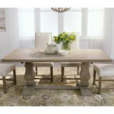 Dining Tables Grey Home Decorators Collection Aldridge Antique Gray Dining Table Nb
