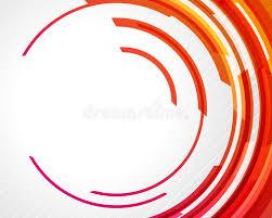 imagenes abstractas con circulos círculos abstractos de la tecnología ilustración del vector