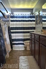 Design For Nautical Bathrooms Ideas Boy Bathroom Already Have The Shower Curtain Lets Do Pirate