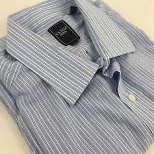 light blue striped polo dress us polo assn men s xl light blue striped button down dress shirt
