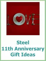 11th anniversary gifts for traditional anniversary presents to buy