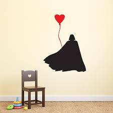 adesivi da parete darth vader con palloncino a cuore star wars adesivi da parete darth vader con palloncino a cuore star wars wall sticker adesivo da muro