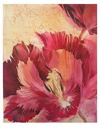 batik silk painting for home design