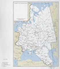 Ussr Map Large Detailed Political And Administrative Map Of European