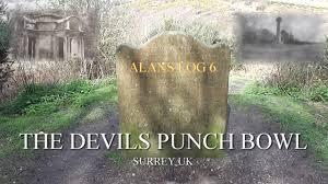 alans log 6 the devils punch bowl surrey hindhead uk filmed on 1 4