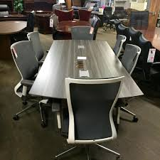 5 foot conference table furniture mayline medina conference table and chairs with cherryman