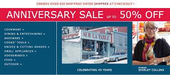 sur la table promo sur la table anniversary sale promotion up to 50 off