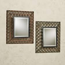 Wall Mirrors Raghnall Cutwork Metal Accent Wall Mirror Set