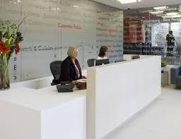 Corian Reception Desk Corian Reception Desk With Ceramic Counter Fusion Executive