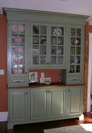 kitchen cupboard glass doors kitchen gray wooden cabinet with light brown wooden top also