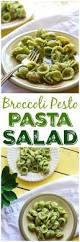 broccoli pesto pasta salad