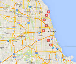 Map Of Shootings In Chicago by Chicago Crime Map November 13 19 Chicago News