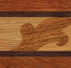 wood floor borders wood flooring accents oshkosh designs