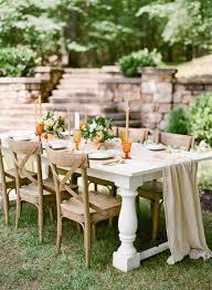 sophisticated summer citrus wedding ideas