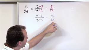 simplifying fractions 5th grade math youtube