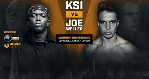 Challenge Ksi Boxing Match Hits 1 5 Million Views As Ksi Stops Joe Weller