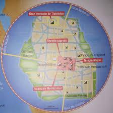 Tenochtitlan Map Tenochtitlán Thinglink