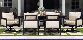 Gold Dining Room Chairs Gold Coast Collection Castelle Luxury Outdoor Furniture