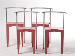 chaises stark chaises stark dr glob set of 4 by philippe starck on artnet