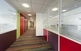 cloison vitr bureau vitre sur allege espace cloisons alu ile de agencement et