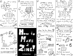 Zine Template by The Transmitting Library