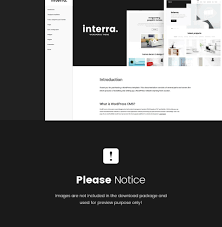interra the best interior design wordpress theme