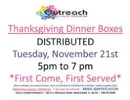 free thanksgiving dinner box giveaway tickets tue nov 21 2017