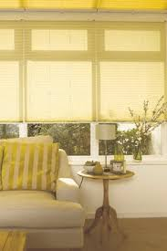 Hillarys Blinds Northampton Add Some Fun Into A Conservatory By Using Brightly Coloured