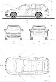 volkswagen golf v blueprint download free blueprint for 3d modeling volkswagen golf v blueprint