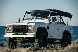 range rover defender 1990 auction block 1990 land rover defender 90 hiconsumption