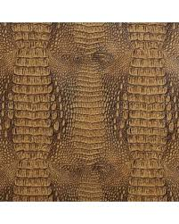 Alligator Upholstery Savings On G035 Brown Crocodile Faux Leather Upholstery Vinyl