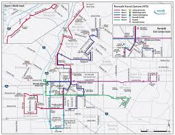 Metrolink Los Angeles Map by Norwalk Transit System Nts Maplets