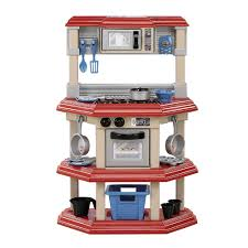 Toy Kitchen Set For Boys American Plastic Toys My Very Own Gourmet Kitchen Review