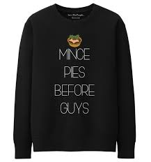 mince pies before guys sweater save the
