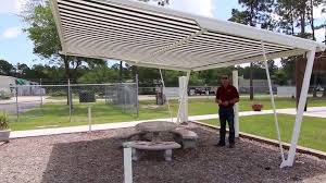 Retractable Pergola Awning by Freestanding Retractable Awning Shade Structure Installable