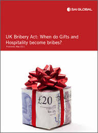bribery act when do gifts hospitality become bribes