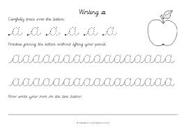 cursive letter formation teaching resources u0026 printables sparklebox