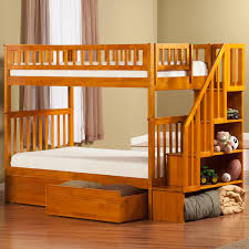 Woodland Bunk Bed Woodland Staircase Bunk Bed Flat Panel Drawers