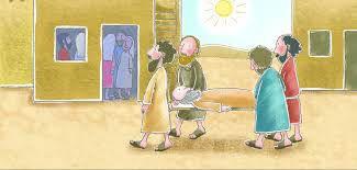 sunday lesson jesus heals and forgives