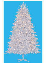 6 foot tribeca spruce white artificial christmas tree with warm