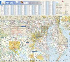 Map Of Baltimore Md Maryland State Map